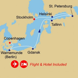 Fly Cruise Holiday Baltic and Golf Azamara Club Cruises Cruise
