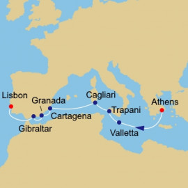 Southern Mediterranean Itinerary
