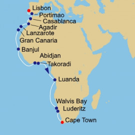 Western Africa Itinerary