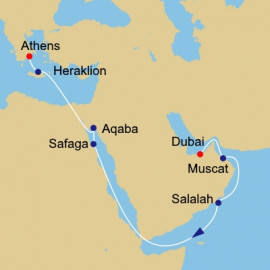Oman Egypt and Jordan  Itinerary
