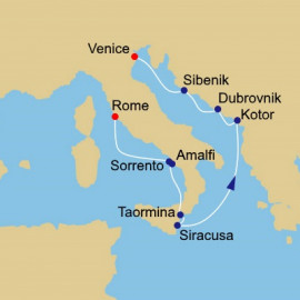 Rome to Venice Azamara Club Cruises Cruise
