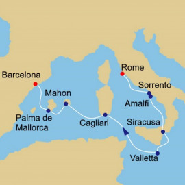 Italy Malta and Spain Itinerary
