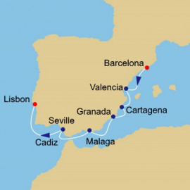 Spain Intensive Itinerary