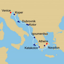 Italy to Greece Itinerary