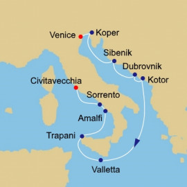 Mediterranean Pursuit Itinerary