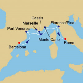 Gems of the Western Med Itinerary