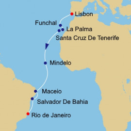 Portuguese Discoveries Itinerary