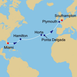 Atlantic Pursuit Itinerary