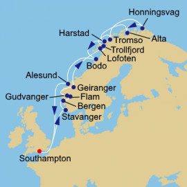 Norway Intensive and N Cape Itinerary