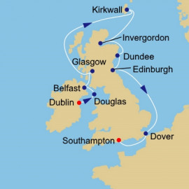 British Open Itinerary
