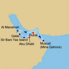 Arabia Intensive Voyage Itinerary