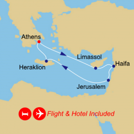 Fly Stay Israel Intensive Azamara Club Cruises Cruise