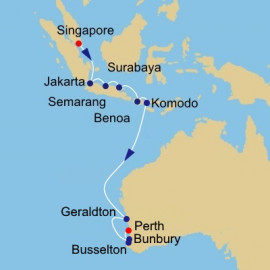 Java Sea and West Australia Azamara Club Cruises Cruise