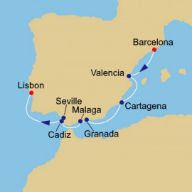 Europe West Azamara Club Cruises Cruise