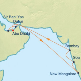 Arabian Sea and India Holiday Itinerary