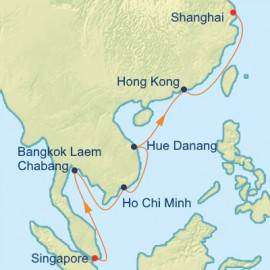 Thailand Vietnam and China Itinerary