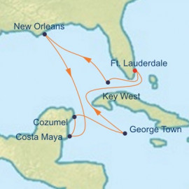 New Orleans and Mexico Celebrity Cruises Cruise