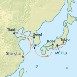 China South Korea and Japan Celebrity Cruises Cruise