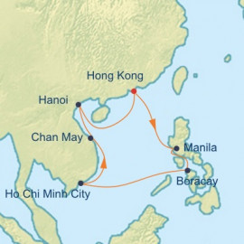 Vietnam and Philippines Celebrity Cruises Cruise