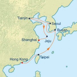 China and South Korea Celebrity Cruises Cruise