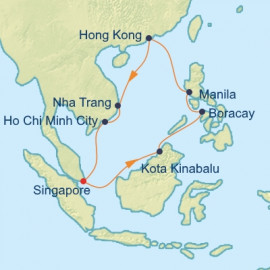 Vietnam Philippines and Hong Kong Celebrity Cruises Cruise