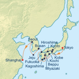 Japan Korea and China Itinerary
