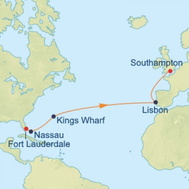 Trade Winds Transatlantic Itinerary