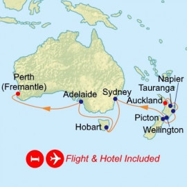 Fly Hotel and New Zealand Australia Celebrity Cruises Cruise