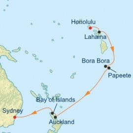 Tahiti Bora Bora and Hawaii Celebrity Cruises Cruise