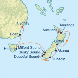 New Zealand Tasmania and Australia Celebrity Cruises Cruise
