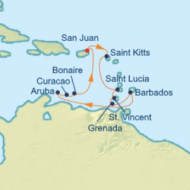 Dutch Antilles Caribbean Itinerary