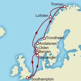 Norwegian Explorer Itinerary
