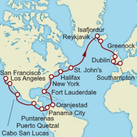 Grand Voyage San Francisco To Southampton Cunard Cruise