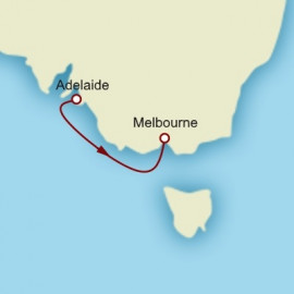 Adelaide to Melbourne Cunard Cruise