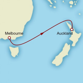 Melbourne to Auckland Cruise