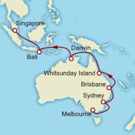 Melbourne to Singapore Itinerary