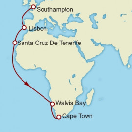 Southampton To Cape Town Cunard Cruise