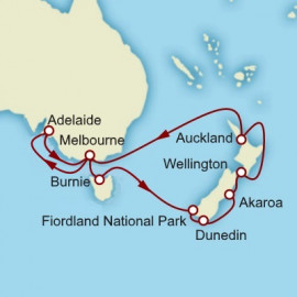 New Zealand and Tasmania Itinerary