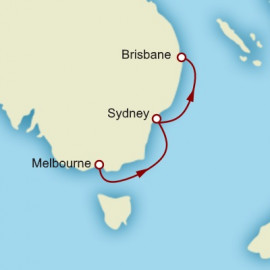 Melbourne to Brisbane Cunard Cruise