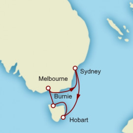 Tasmania and Melbourne Cunard Cruise