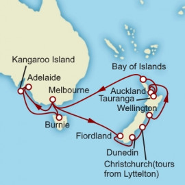 New Zealand and South Australia Cunard Cruise