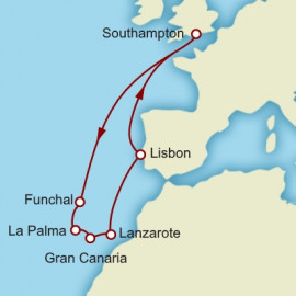The Canary Islands and Madeira Cunard Cruise
