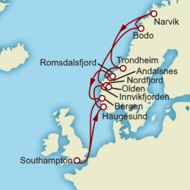The Fjords Cunard Cruise