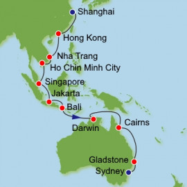 Shanghai to Sydney Dream Cruises Cruise