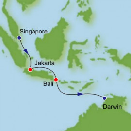 Singapore to Darwin Dream Cruises Cruise