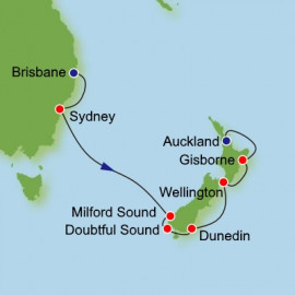 Brisbane to Auckland Dream Cruises Cruise