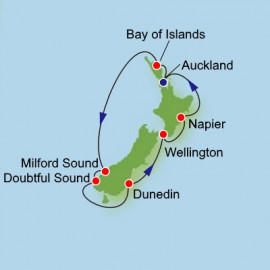 New Zealand Adventure Dream Cruises Cruise