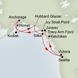 Great Alaskan Explorer Itinerary