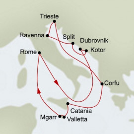 Mediterranean Legends Itinerary
