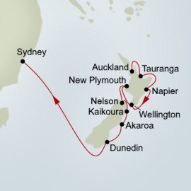 New Zealand Panorama  Holland America Line Cruise